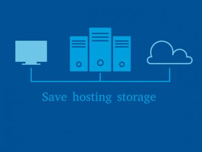 2 Simple Ways to Save Your Hosting Storage