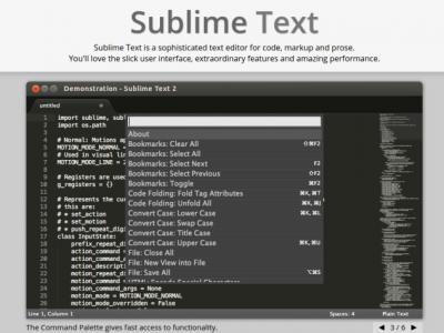 8 Useful Cross Platform Text Editors for Programmers