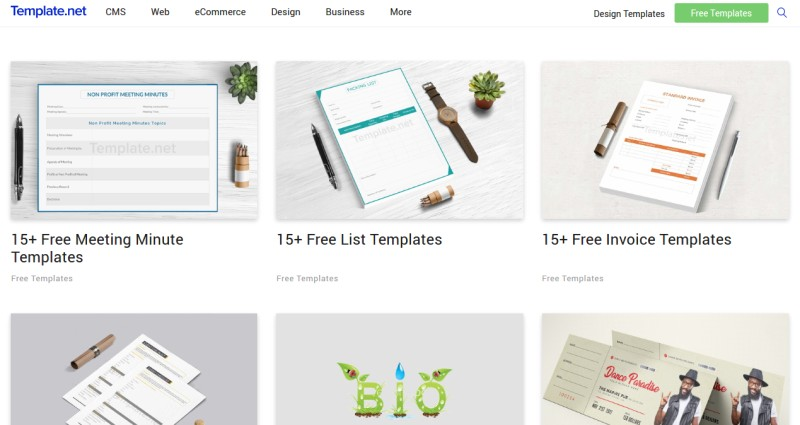 4 Online Resources that Let You Download Form Templates for Free – Free Form Templates
