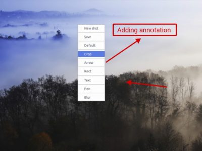 Easily Capture Your Desktop and Add Annotations With Shots