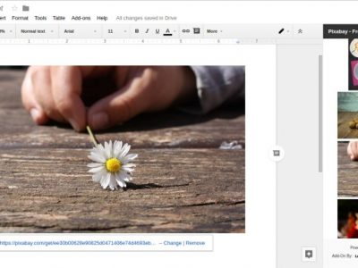 This Google Docs Add-on Make it Easy to Insert Free Royalty Free Images from Pixabay