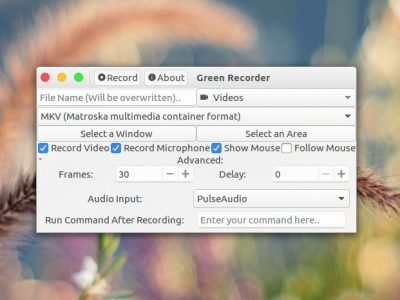 How to Record a Specific Area of Desktop Screen in Linux