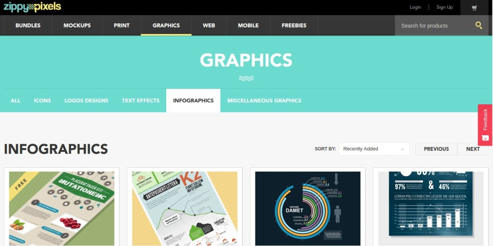 Free infographic template websites
