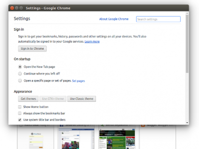 How to Open Google Chrome Settings Menu in a New Window, Instead of Tab