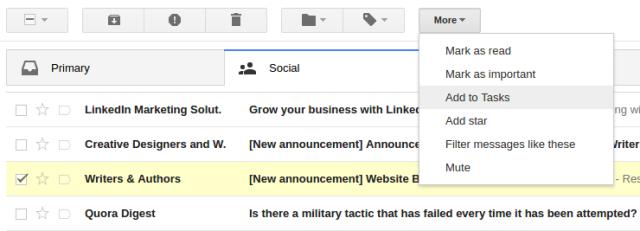 select inbox