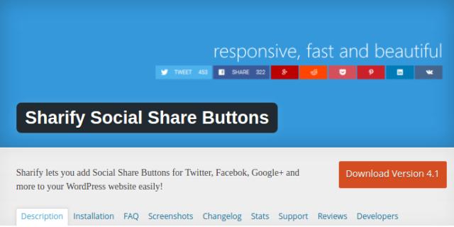 List of 17 Top Cool and Responsive WordPress Social Share Plugins - Better Tech Tips