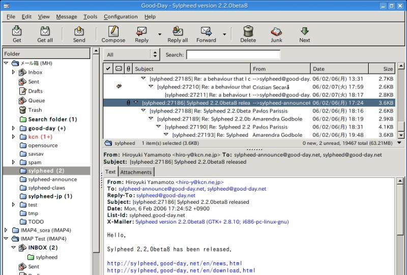 Kostenloses Mailprogramm
