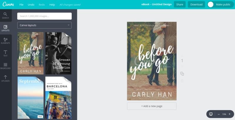 5 online e book cover creators to design e book cover by yourself