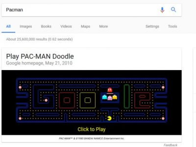 6 Fun Games That You Can Play Directly from Google Search
