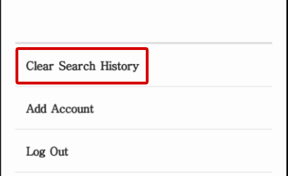 how to clear search history on instagram samsung