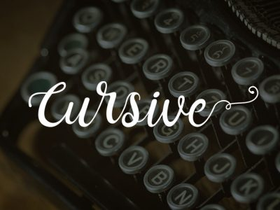10 Great Free Cursive Fonts for Your Commercial Projects