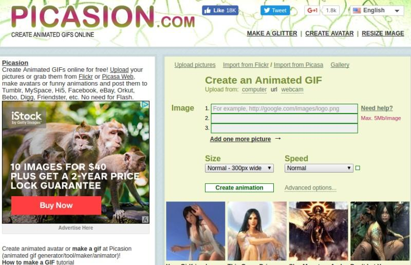 10 online gif makers that you can use for free better tech tips picasion is anther online gif maker that will help you to turn some images into a single file of gif picasion only lets you to add 10 images negle Images