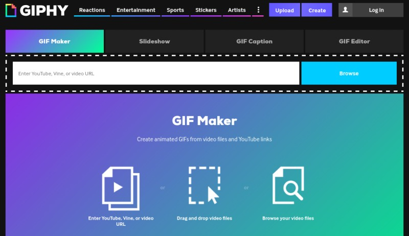 10 online gif makers that you can use for free better tech tips giphy should be on the first list when you are talking about gif this is i guess the best online resource for animated gifs from any genre negle Choice Image