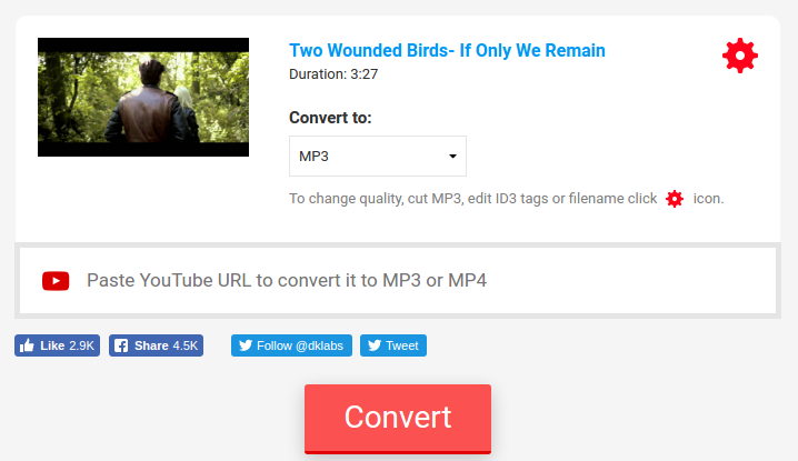 10 Online Tools To Convert YouTube To MP3