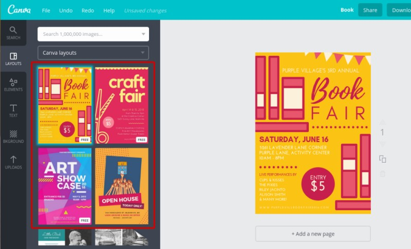 how to create flyer online using canva  u2013 better tech tips