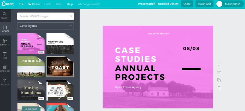 We Have Mentioned This Tool Several Times Like Here And Canva Is An Online That Offers Services Including Presentation Maker