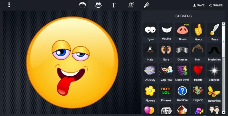 Create Emoji From Photo Online ✓ The Emoji
