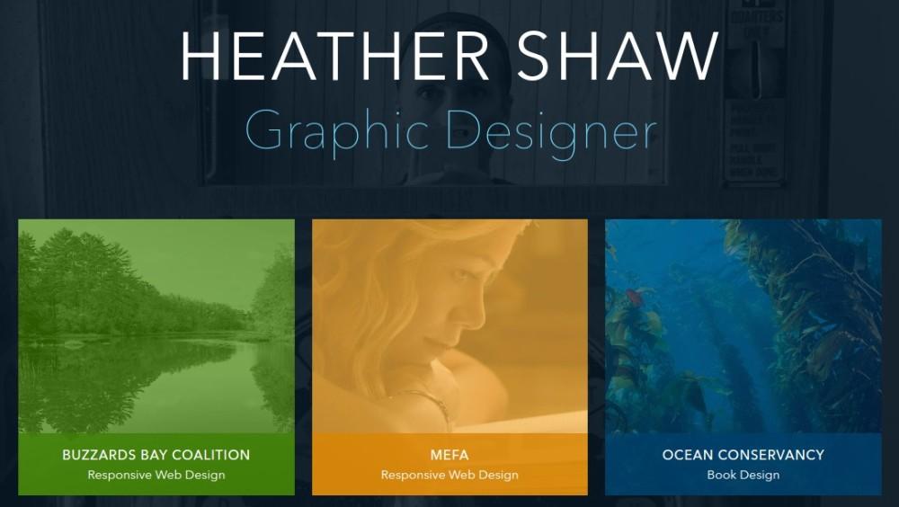 5 Cool Examples of Graphic Design Portfolio Website ...