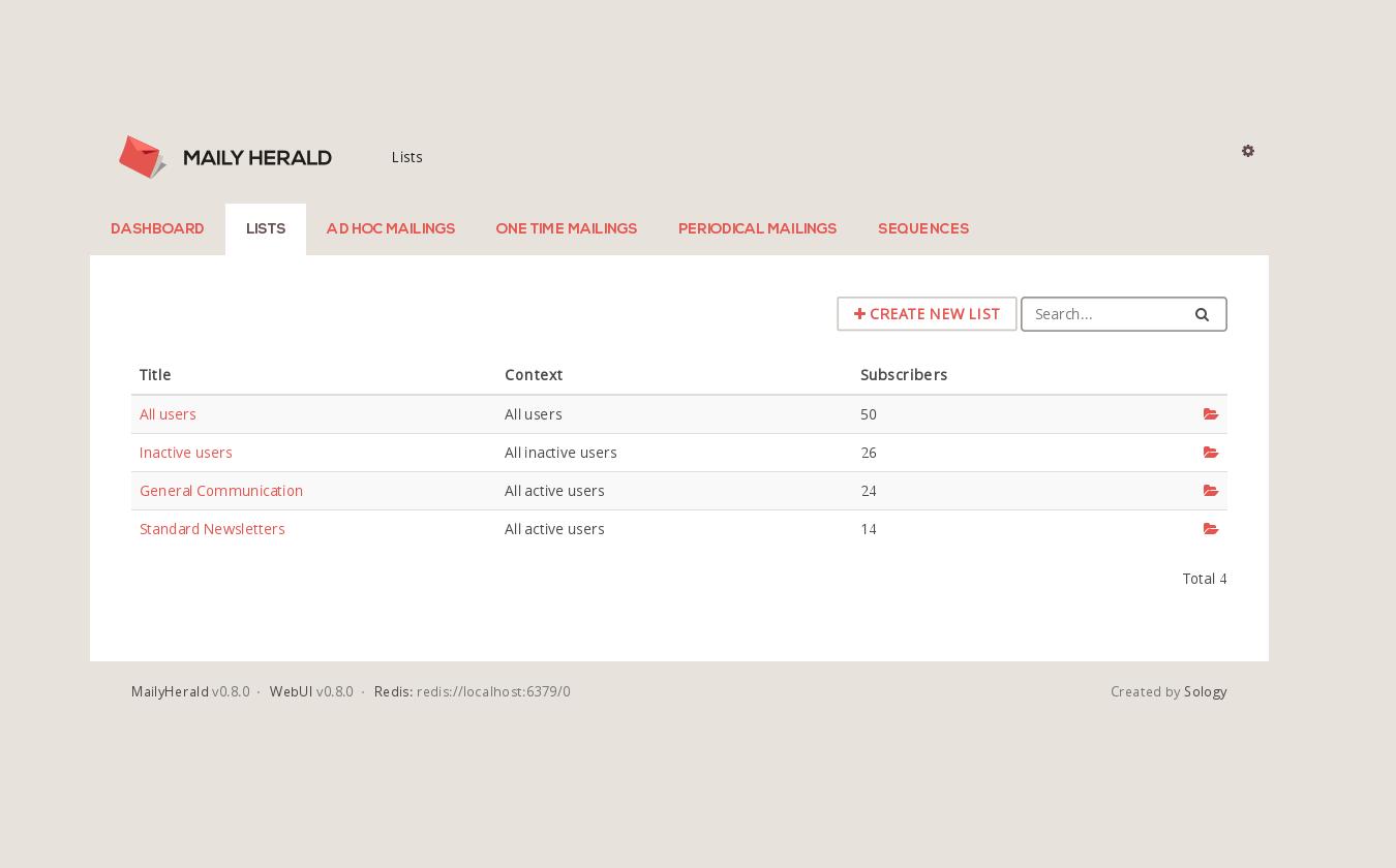 6 Open Source Mailing List Managements Alternative to MailChimp