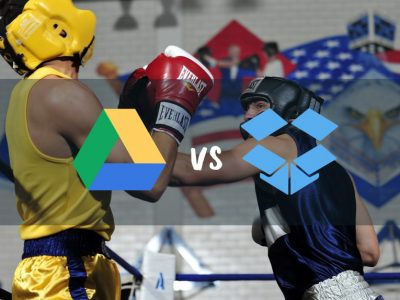 how to use dropbox and google drive together