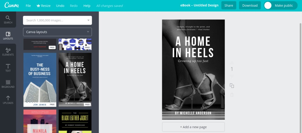 Create Your Own Ebook Cover