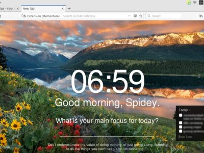 How To Enhance Your Productivity in Firefox Using Momentum
