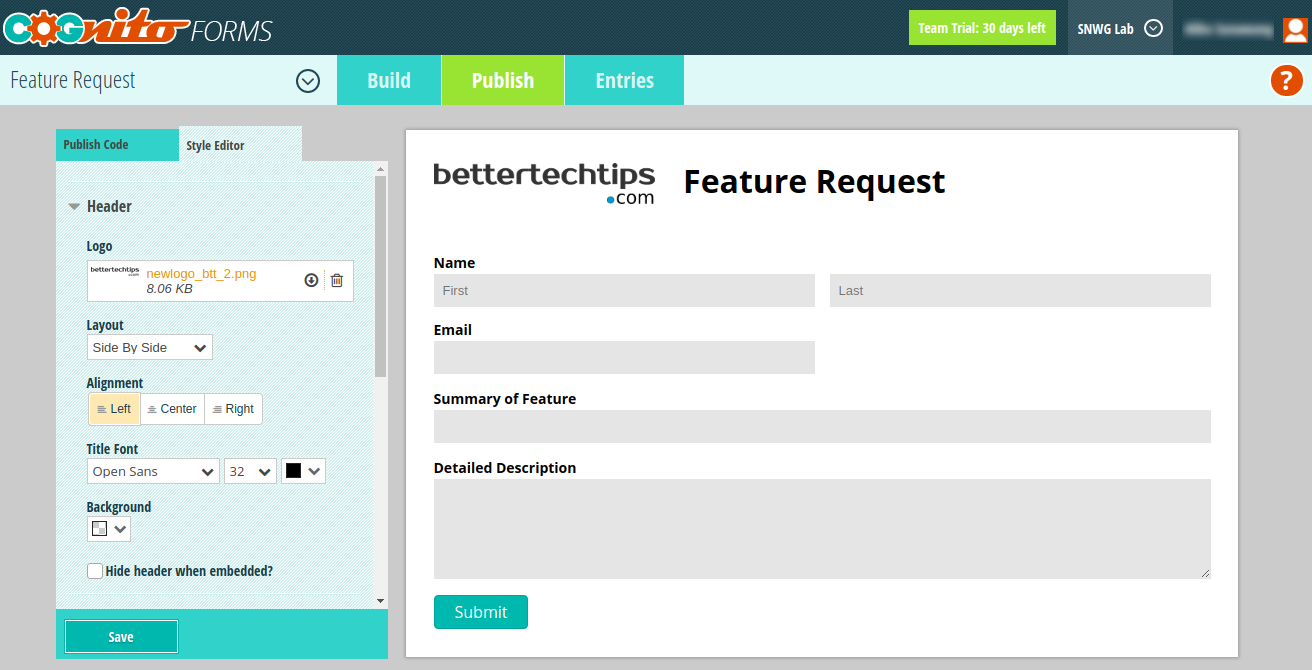 10 Typeform Alternatives to Create Online Form – Better Tech