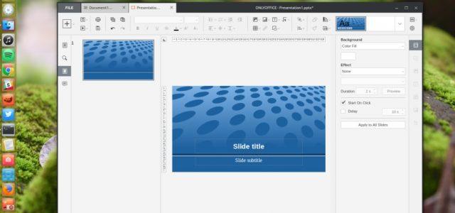 How to Install OnlyOffice Desktop Editors on Ubuntu