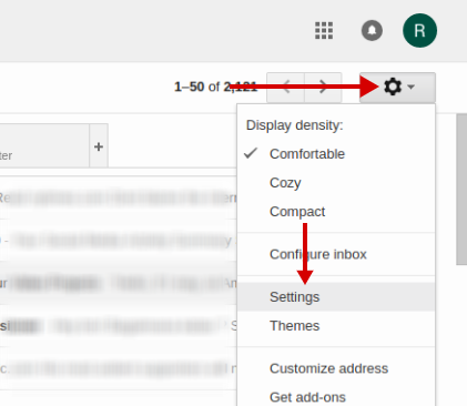 email signature for gmail