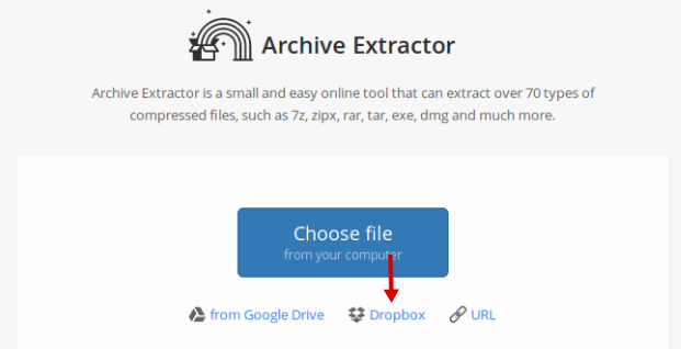 How to Unzip Files on Dropbox Without Downloading Them First
