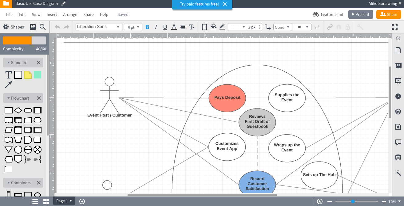 7 tools to create uml diagram online better tech tips lucidchart is also a great online diagramming tool that uses the freemium business model which means you are allowed to use it for free although you have ccuart Images
