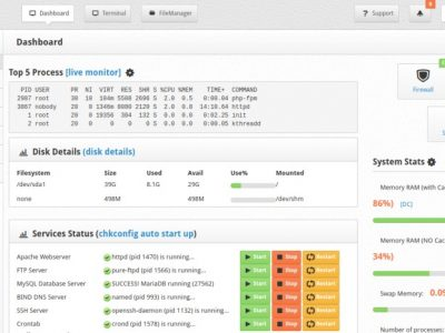 6 Free cPanel Alternatives to Manage Your VPS