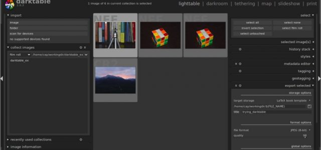 Darktable Tutorial – Getting Started with the Open Source Alternative to Lightroom