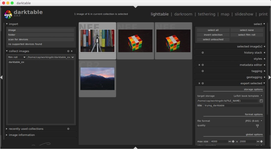 Darktable Tutorial - Getting Started with the Open Source