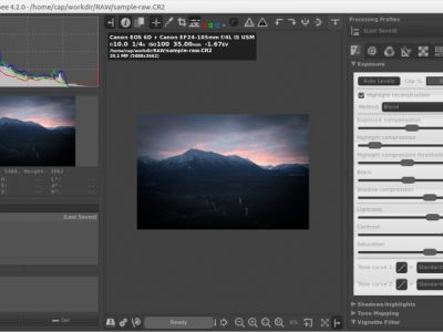 RawTherapee Review, a Nice Free Tool to Process RAW files