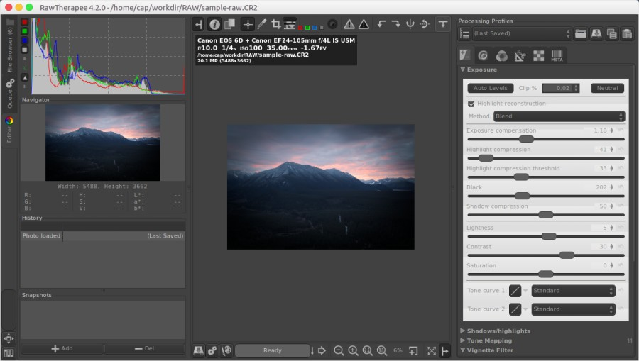 RawTherapee Review, a Nice Free Tool to Process RAW files – Better