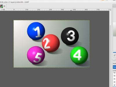 How to Create 3D Spherical Text Effect with GIMP