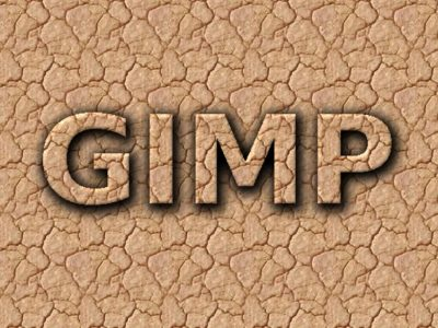 GIMP Tutorial – Dried Mud Text