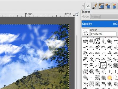 How to Install Photoshop Brushes in GIMP