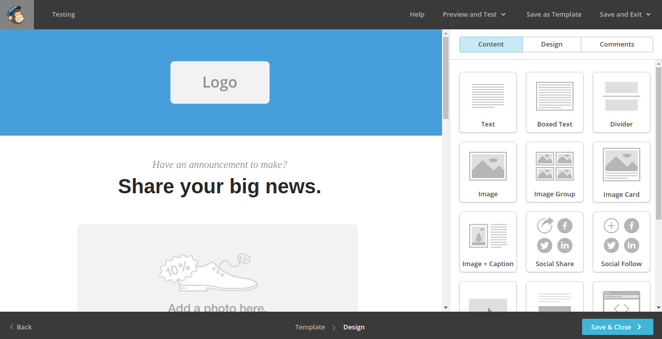 how to send a bulk email in mailchimp