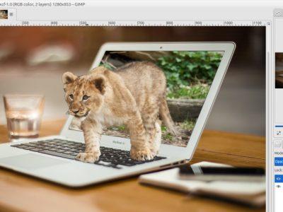GIMP Tutorial – Photo Pop Out