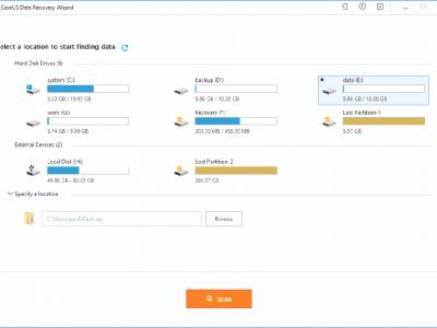 Experience The Unique Efficiency Of EaseUS Data Recovery Wizard Free