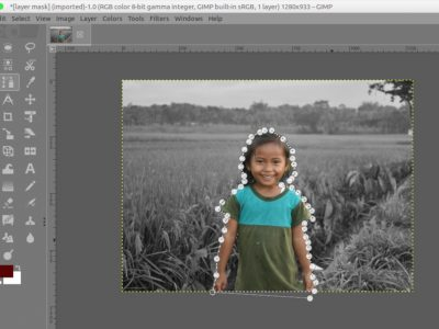 How to Use Paths Tool in GIMP