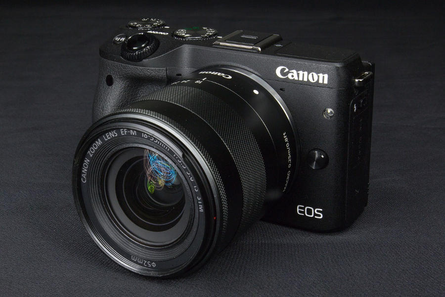 Canon M3 mirrorless camera