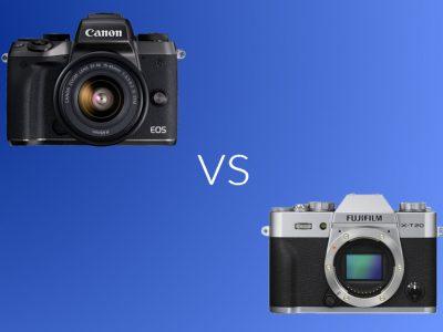 Canon M5 vs Fujifilm X-T20: Specs and Features Comparison