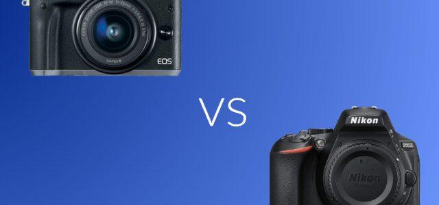 Canon M6 vs Nikon D5600. Which Camera You Should Buy?