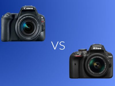 Canon Rebel SL2 vs Nikon D3400: Which Entry Level DSLR is The Better?