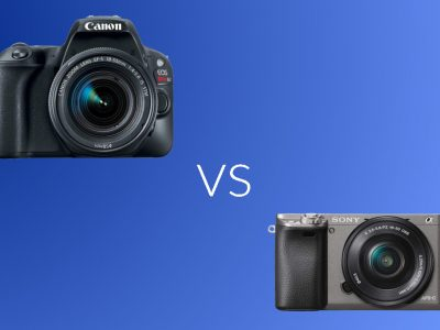 Canon Rebel SL2 vs Sony A6000. Which Camera You Should Buy?