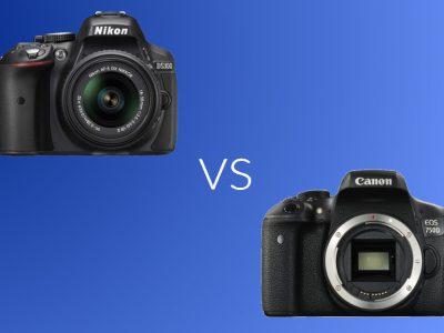 Nikon D5300 vs Canon 750D: Specs and Features Comparison