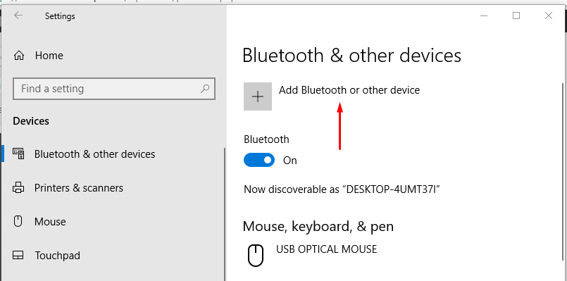 how to add bluetooth to windows 10